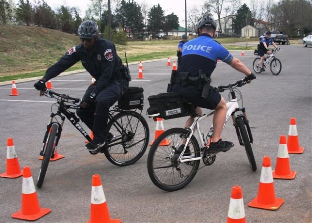 Murfreesboro Police recently hosted International Police Mountain Bike Association Police Cyclist Course | Murfreesboro Police, Murfreesboro, Police, Murfreesboro bike police, bike police, bike, bikes, mountain bikes, MPD