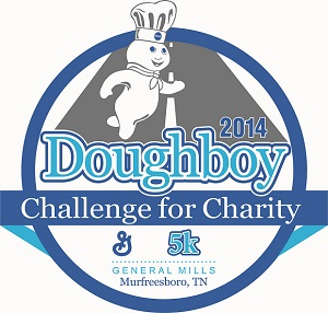 The Doughboy Challenge 5k in Murfreesboro - Next Saturday May 31st | race,5k,doughboy challenge,doughboy,Pillsbury,General Mills,Murfreesboro race,Tennessee race,TN race,WGNS news