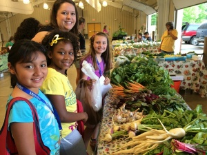 Locally farmed food at the Murfreesboro City Schools