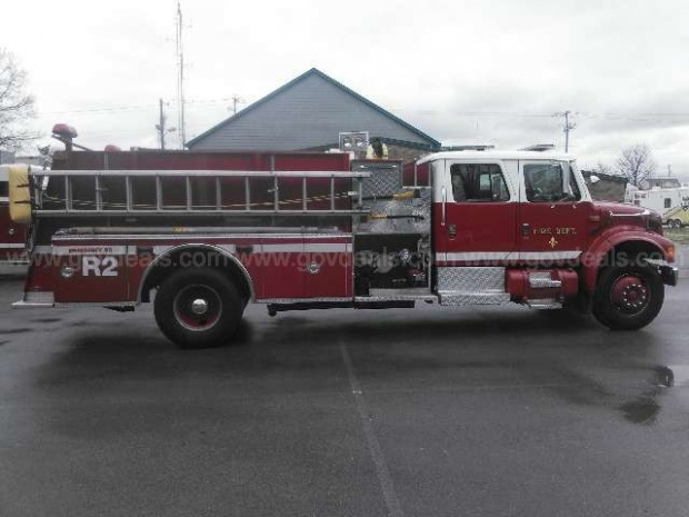 Need a fire truck? LaVergne has one for sale!  | LaVergne, Fire Truck for sale, fire truck, firetruck, firetruck for sale