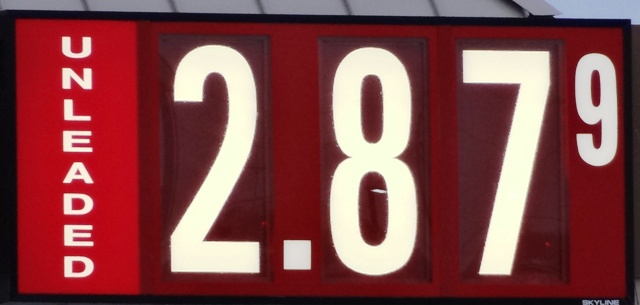Gas Prices Continue To Drop...Now $2.87 Locally!