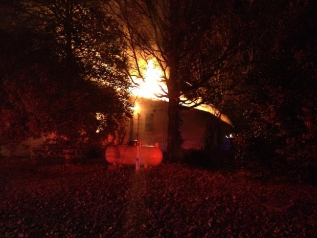 UPDATE: House Fire on Greenland Drive Looks to be a Total Loss | Greenland Drive, Greenland, Murfreesboro fire, fire, MFRD, Ashley McDonald, Murfreesboro news