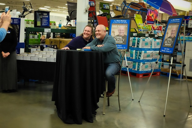 Dave Ramsey was in Murfreesboro on Monday Night | Dave, Dave Ramsey, Ramsey, Dave Ramsey in Murfreesboro, Sams, Sams Club, Murfreesboro news