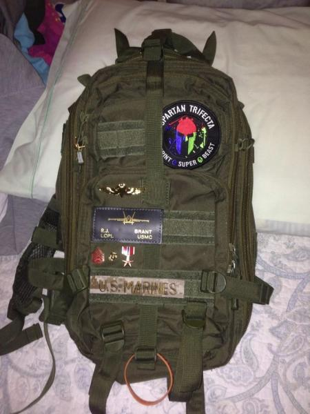 Stolen U.S. Marine Backpack Recovered - Bronze Star and Purple Heart on Pack Unharmed  | backpack, Marine backpack, stolen backpack, Murfreesboro news, car break-ins, St. Andrews Drive, Purple Heart