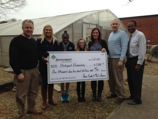 Hobgood Greenhouse Receives Dollars for Upgrades | Hobgood, WGNS, green house, Farm Credit, Murfreesboro news