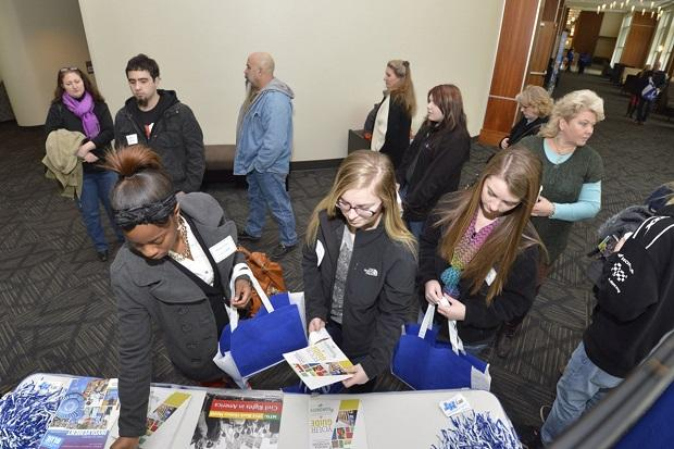 Prospective MTSU students gain insight into majors, careers | MTSU, WGNS, Murfreesboro news, TN, True Blue Friday