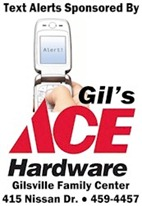 Sign Up Here to Receive Text Alerts from WGNS & Gil's Ace Hardware