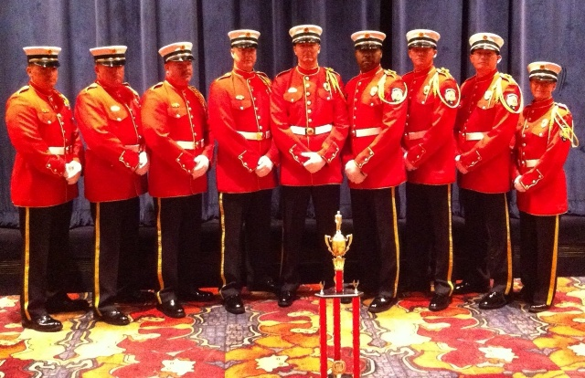 Murfreesboro Fire & Rescue Has #1 Honor Guard!