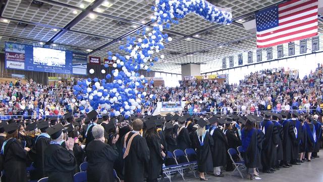 100,000th Blue Raider Diploma...Centennial Year!