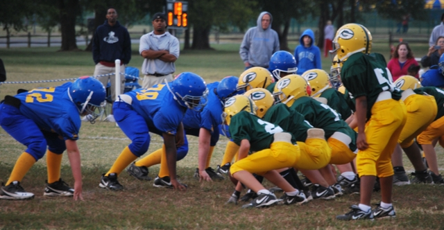 """Youth Football"" and ""Youth Cheerleading"" Sign-Ups"