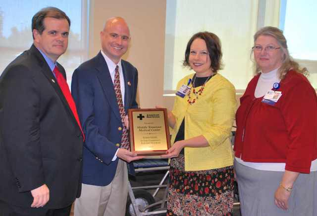 "MTMC Honored With ""Gold Level"" Red Cross Status!"