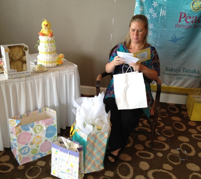 Murfreesboro Rotary Holds 1st Baby Shower In 93-Year History!