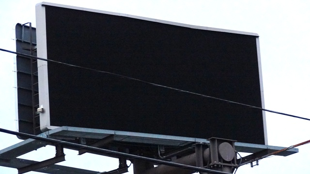City Turns Off Electricity To Lamar's Electronic Billboard