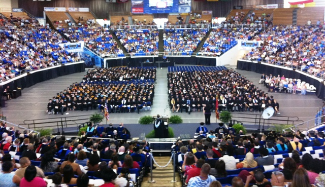 MTSU Held Summer Graduation On Saturday