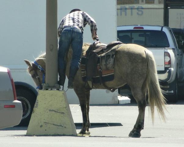 One 'Boro Man Eliminates Cost Of Gas!