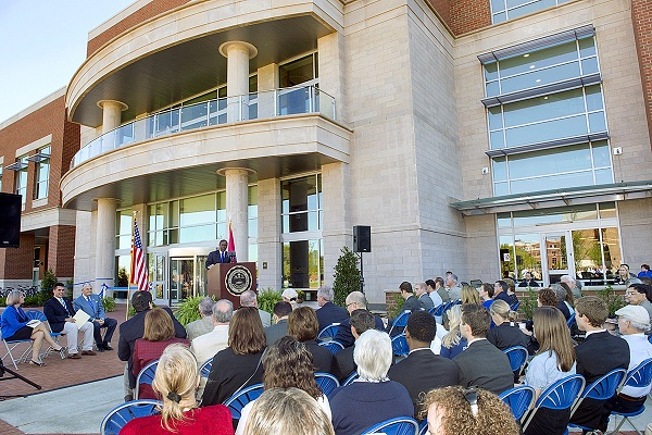 MTSU Student Union Building Unveiled