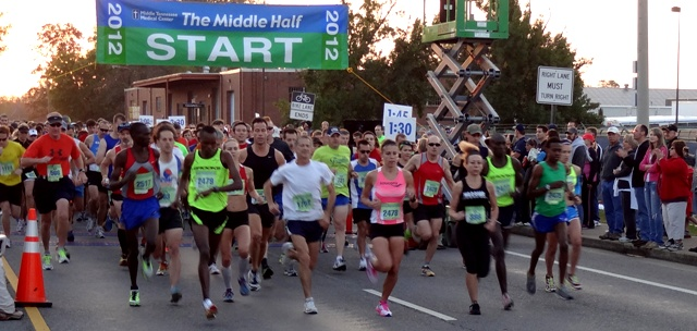 6th Annual Middle Half Marathon A HUGE Success!