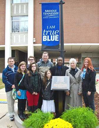 The late Dr. Eugene Smith honored Saturday at MTSU