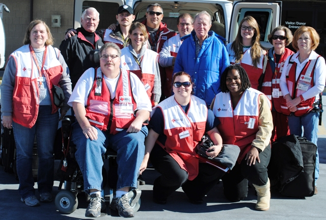 Red Cross Sends Locals To Help Hurricane Sandy Victims
