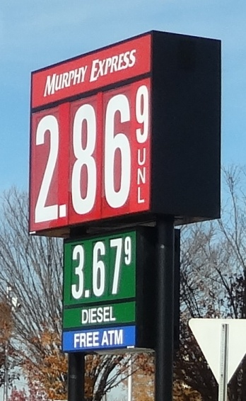 Holidays Near...Gas Drops To $2.86 Per Gallon