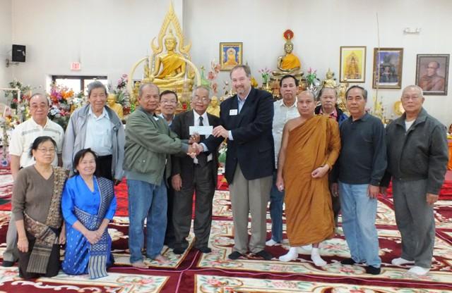 Local buddhist donate 1 270 to hot red cross murfreesboro news and radio - Lao temple murfreesboro tn ...