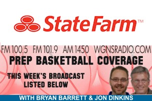 Pre-Christmas Prep Hoops Schedule on WGNS