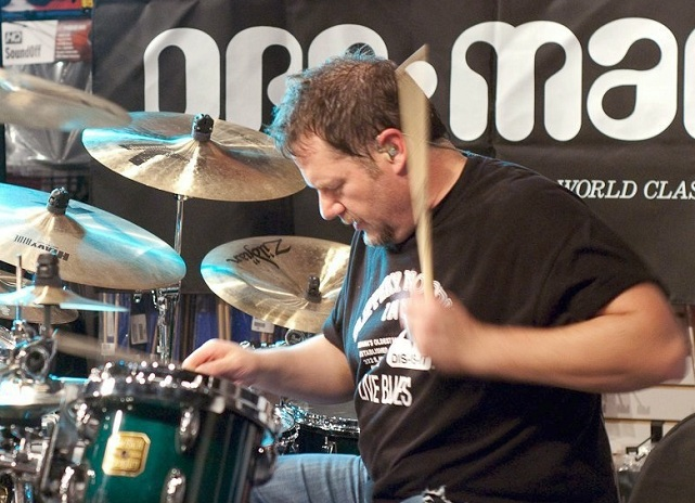 Learn from David Northup's free Saturday Drum Clinic