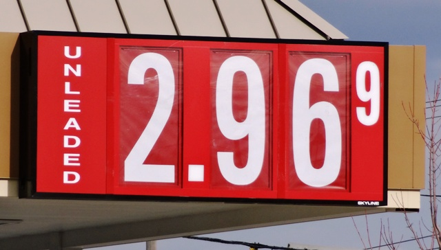 Gas Prices Up Slightly, But Leveling Below $3