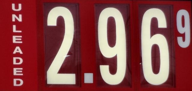 Gas Steady At $2.96, But AAA Warns Will Rise! | gas prices, will rise spring, Murfreesboro $2.96 per gallon, WGNS