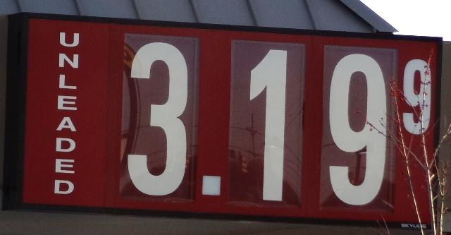 Gas Prices...Expensive but Stable | gas prices high, stable, $3.19, Murfreesboro, WGNS