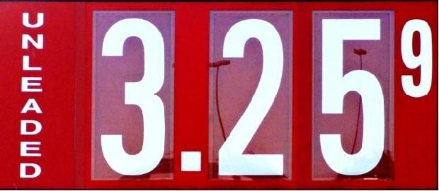 A Week From Memorial Day; Gas $3.25   gas down, $3.25, Murfreesboro, WGNS