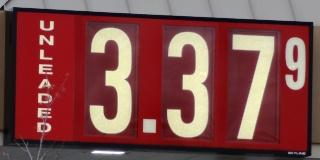 'Boro Gas Up 41-Cents In 8-Weeks | gas prices, climb, AAA, $3.37, up 41-cents in 8-weeks, Murfreesboro, WGNS