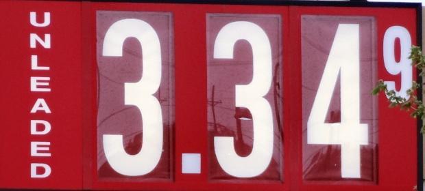 Gas Drops A Nickel In 'Boro: $3.34 | gas prices; drops a nickel in Murfreesboro; $3.34; WGNS
