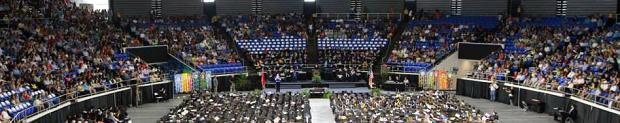 872 Received MTSU Diplomas Saturday | MTSU, summer graduation, 872 grads, Murfreesboro, Murphy Center, WGNS