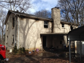 Home Fire Reported in Rutherford County Thursday Morning | fire, volunteer fire, Larry Farley