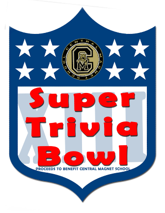 "3rd ""Trivia Super Bowl"" at Central Magnet School January 25th! 