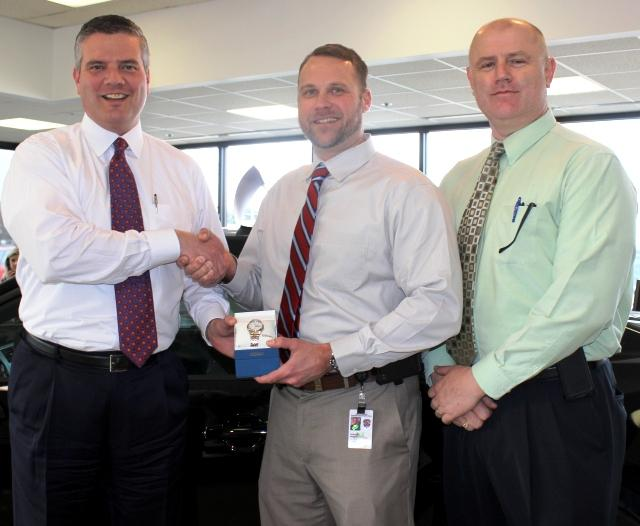 Detective Steve Brown Honored By Ford of Murfreesboro | Detective Steve Brown, RCSO, Ford of Murfreesboro, WGNS