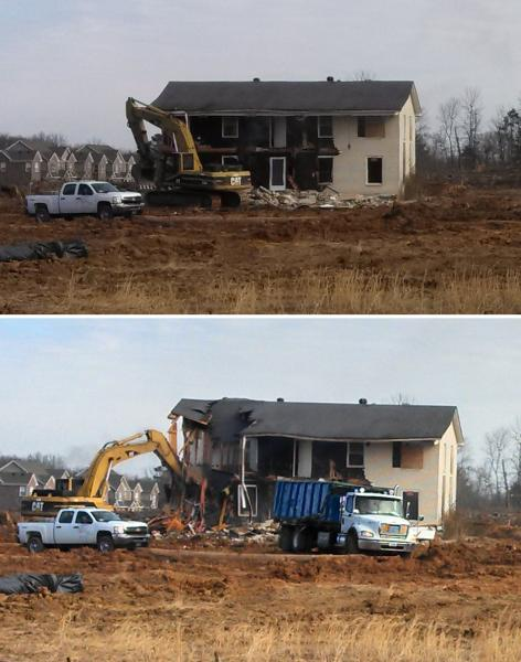 More Progress in Murfreesboro? Homes Officially Torn Down to Make Way for Construction of Two New Walmart Stores in Murfreesboro.  | Walmart, Walmarts, Murfreesboro Walmart, Tennessee Walmart, Murfreesboro news, Murfreesboro retail, Tennessee Walmart, Tennessee, County Farm Road