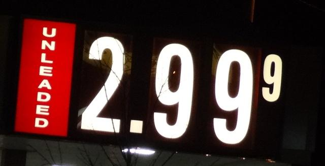 Gas Prices Stable In Region...Down 3-Cents In 'Boro! | gas down 3-cents in Murfreesboro, $2.99 per gallon, stable in Southeast, WGNS