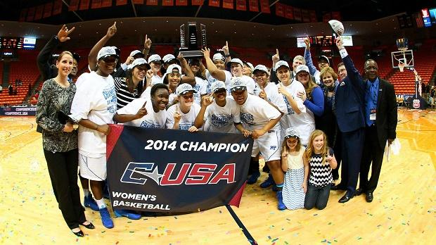 Blue Raiders power past USM to claim C-USA title | Lady Raiders, WGNS, Murfreesboro news, Murfreesboro sports, Conference USA, champions