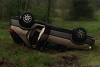 Car overturns in Tuesday morning wreck in Rutherford County