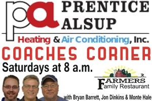 Monte Hale to Co-Host Prep Coaches Shows | Monte Hale, Jr., WGNS, WGNS Sports, WGNS News, Bryan Barrett, Jon Dinkins, Murfreesboro news, Murfreesboro sports, Prentice Alsup Heating and Air, Farmer's Family Restaurant