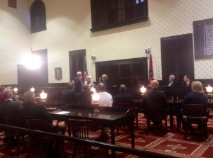 County Commission Sworn In