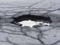 Ice Storm Aftermath: Potholes