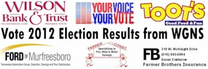 Vote 2012 August 2nd Results