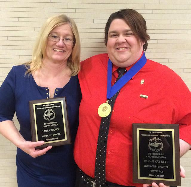 Motlow PTK chapter earns Awards