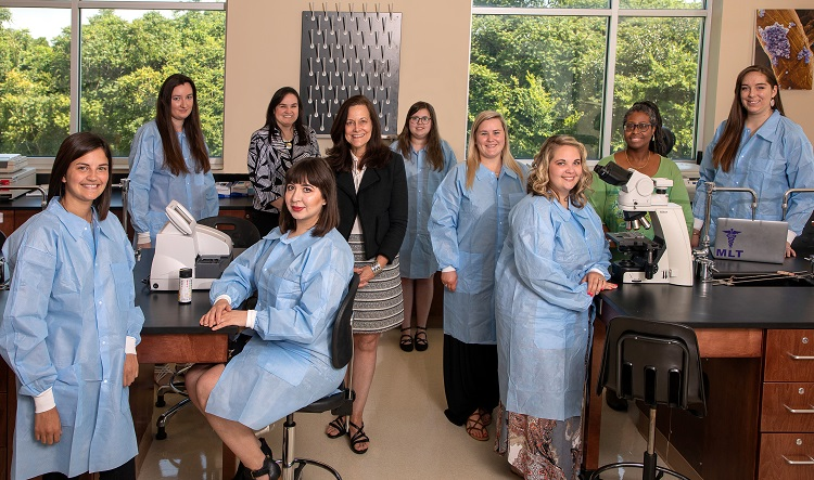 First graduating class of Motlow Medical Laboratory Technicians