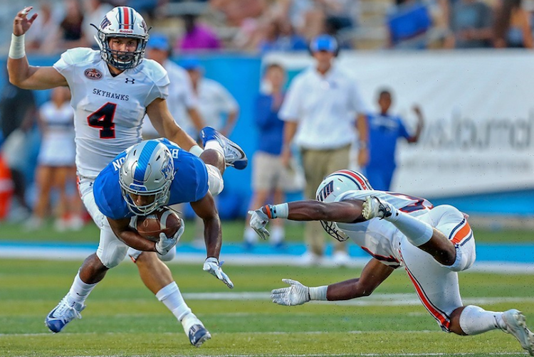Blue Raiders roll to victory in home opener against UT-Martin