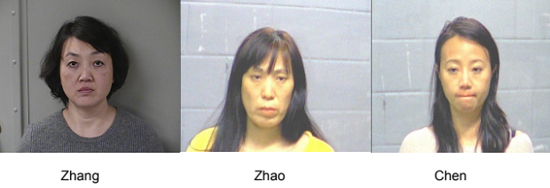 Police Bust of Local Massage Businesses for Prostitution