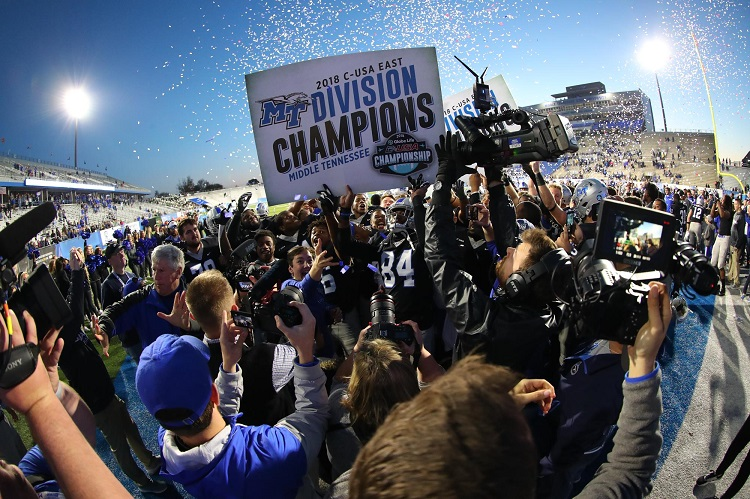 FB: Blue Raider to host CUSA Championship after beating UAB